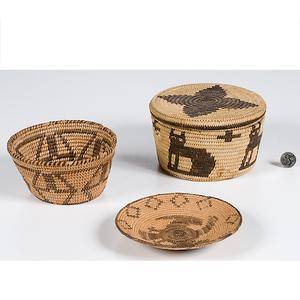 Pima and Tohono O'odham Baskets