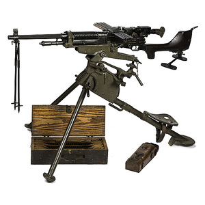 **U.S. Model 1909 Benet Mercie Light Machine Gun