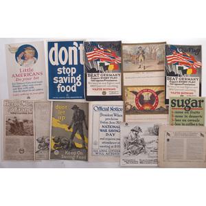 World War I Posters, Group of Thirteen
