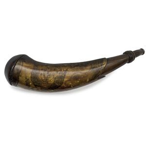 Tansel Engraved Power Horn