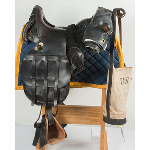 U.S. Restored M-1885 McClellan Saddle and Accessories
