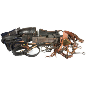 US Cavalry Accessories, Large Lot