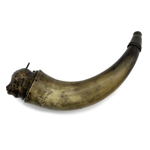 French Powder Horn