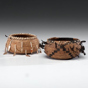 Pomo Gift Baskets From the Collection of Dr. Kent and Karen Vickery, Colorado