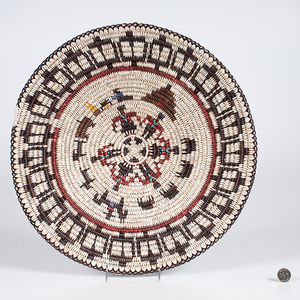 Bessie Holiday Navajo Figural Basket From the Collection of Dr. Kent and Karen Vickery, Colorado
