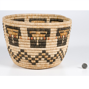 Hopi Second Mesa Corn Maiden Basket From the Collection of Dr. Kent and Karen Vickery, Colorado