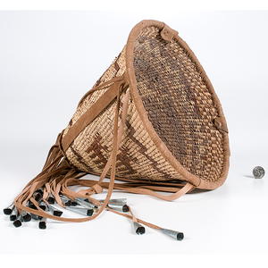Mary Jane Dudley Apache Burden Basket From the Collection of Dr. Kent and Karen Vickery, Colorado