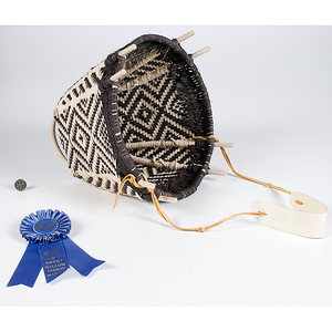 Gloria Wilkinson Award Winning Burden Basket From the Collection of Dr. Kent and Karen Vickery