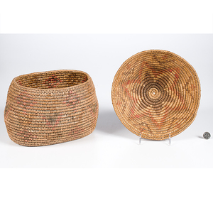 Jicarilla Apache Polychrome Baskets From the Collection of Dr. Kent and Karen Vickery, Colorado