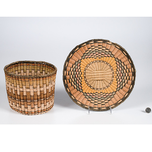Hopi Third Mesa Polychrome Baskets From the Collection of Dr. Kent and Karen Vickery, Colorado