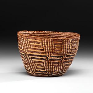 Cowlitz Burden Basket
