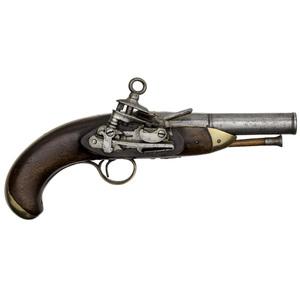 Spanish Military Miquelet Pistol