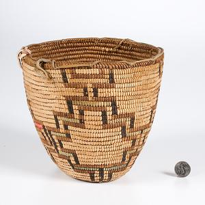 Puyallup Northwest Coast Imbricated Basket