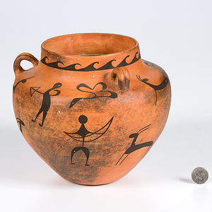 Frances Torivio Acoma Jar From the Collection of Dr. Kent and Karen Vickery, Colorado