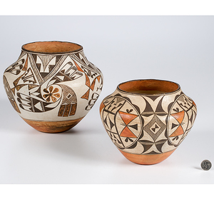Acoma Jars From the Collection of Dr. Kent and Karen Vickery, Colorado