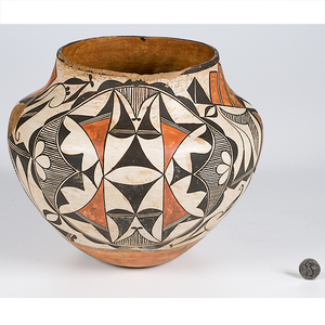 Acoma Olla From the Collection of Dr. Kent and Karen Vickery, Colorado