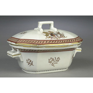 Armorial Export Covered Tureen,