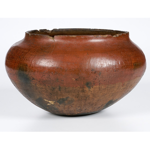 San Juan Redware Bowl From the Collection of Dr. Kent and Karen Vickery
