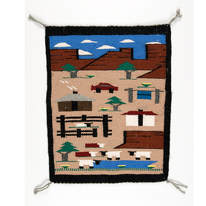 Navajo Pictorial Weaving From the Collection of Dr. Kent and Karen Vickery