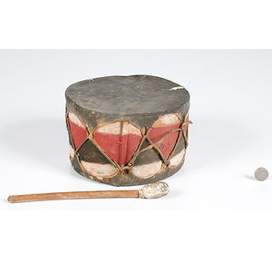 Cochiti Wwoden Drum with Beater