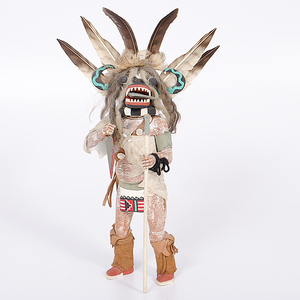 Hopi Ogre Katsina from the Collection of Dr. Kent and Karen Vickery, Colorado