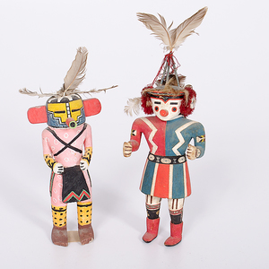 Hopi Katsinas from the Collection of Dr. Kent and Karen Vickery