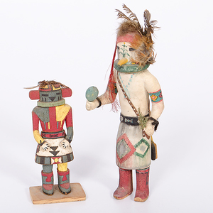 Hopi Katsina and Yeibichai Dancer from the Collection of Dr. Kent and Karen Vickery