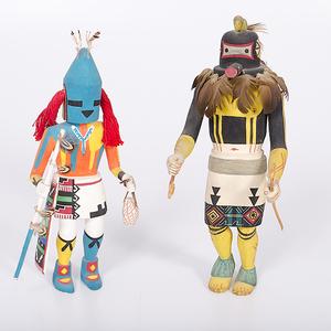 Dick Pentewa and Emory Pohuma Hopi Katsinas from the Collection of Dr. Kent and Karen Vickery