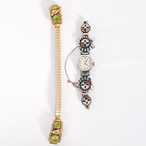 Navajo and Zuni Watchbands