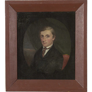 Portrait of a Young Gentleman Attributed to Jarvis Frary Hanks,