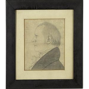 Fine Profile Portrait of Ohio Pioneer James Kilbourne,