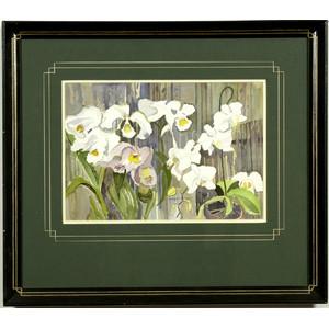Georgiabelle Clark Floral Watercolor,