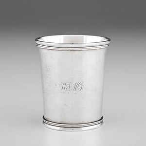 Kentucky Coin Silver Julep Cup by W. & A. Cooper