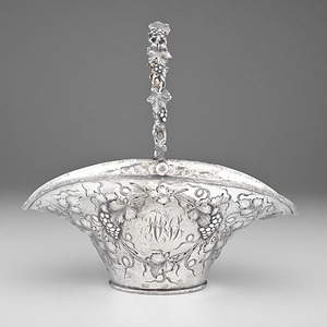 Sterling Repousse Basket
