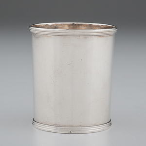 Kentucky Coin Silver Julep Cup by A. Blanchard