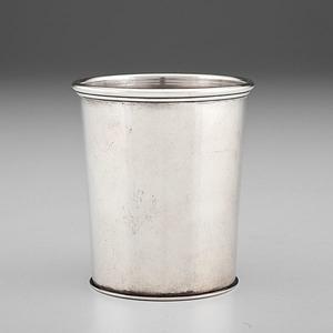 Louisville, KY Silver Julep Cup Retailed by Fletcher & Bennett