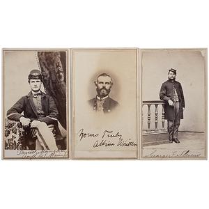 1st Maine Sharpshooters, Three Identified CDVs