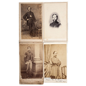 3rd Maine Soldiers, Four Identified CDVs