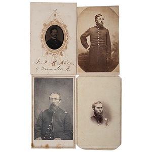 4th Maine Soldiers, Four Identified CDVs