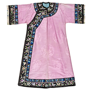 Chinese Embroidered Woman's Robe