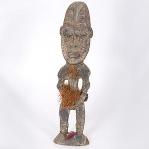 Sepik River Painted Figure