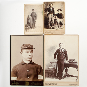 Civil War through Spanish American War-Period Photos of Soldiers & Armed Men
