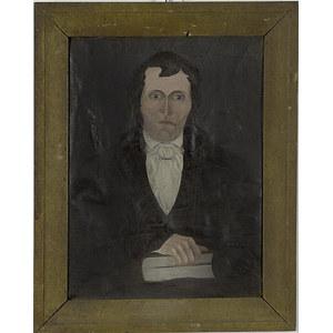 Folk Art Portrait of a Gentleman,