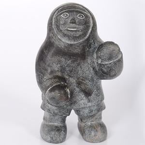 Mathew Aqigaaq (Inuit, b. 940) Sculpture