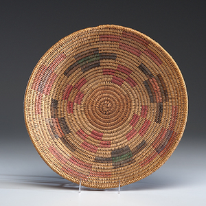 Jicarilla Apache Polychrome Basket Collected by John S. Boyden, Sr. (1906-1980)