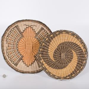 Hopi Third Mesa Wicker Baskets Collected by John S. Boyden, Sr. (1906-1980)