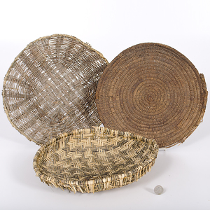 Hopi Basketry Trays Collected by John S. Boyden, Sr. (1906-1980)