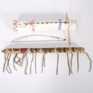 Apache Violin and Paiute Flute Collected by John S. Boyden, Sr. (1906-1980)