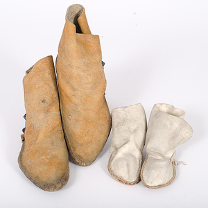 Navajo and Apache Moccasins Collected by John S. Boyden, Sr. (1906-1980)