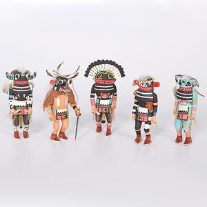 Hopi Katsinas Collected by John S. Boyden, Sr. (1906-1980)